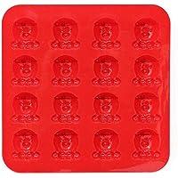 チョコ 型 シリコンモールド クッキー 16個 かわいいキャラクター