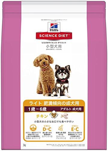 サイエンスダイエット ライト 小型犬用 肥満傾向の成犬用 3kg [ドッグフ...