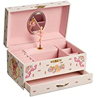 San Francisco Music Box Company - Ballerina Jewellery Music Box