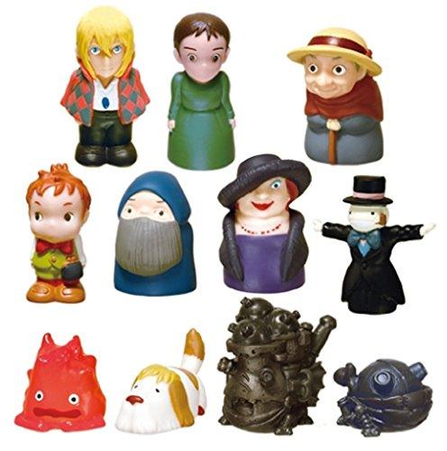 スタジオジブリ ハウルの動く城 ゆびにんぎょう/指人形 11種セット
