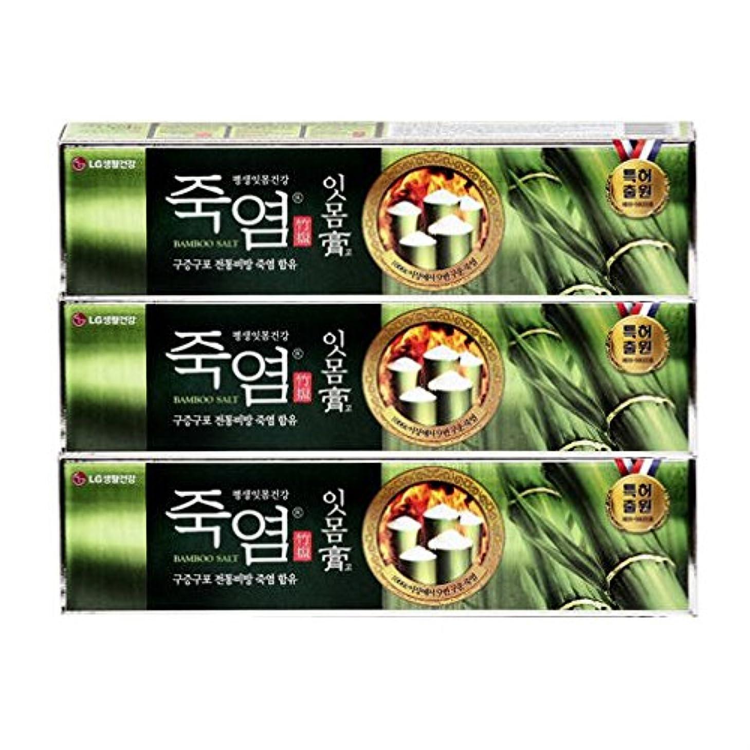 LG生活健康 竹塩歯磨き粉 (歯康膏:ウンガンゴ)(130g*3個) [海外直送品][並行輸入品]