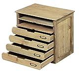 ラック 木製 sn-cac-4 シェルフ アンティーク 薄型 押入れ スチール 幅30 スリム A4 A4ファイル 四段 スライド 棚 多目的 小物入れ 引き出し ミニ ケース 箱 卓上 おしゃれ オープン 天然木 完成品 収納 S1