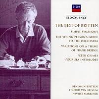 Britten: Best of by BRITTEN / ENGLISH CHAMBER ORCH (2001-01-15)