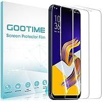 「2枚?Gootime Zenfone 5 ZE620KL フィルム Asus ZenFone 5z ZS620KLフィルム ゼンフォン5 ZE620KL フィルム 薄型 TPU 耐衝撃吸収 高光沢防指紋 自己復元機能 (Asus Zenfone 5 ZE620KL)