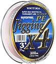 ユニチカ(UNITIKA) ライン ユニベンチャージギングX4 300m 3号