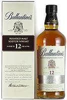 [小箱に擦れや歪み] バランタイン ブレンデッドモルト 12年 スコッチウイスキー 40度 700ml [並行輸入品]