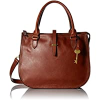 Fossil Women Ryder Handbag, Brown, 12 Inches L X 5.5 Inches W X 10 Inches H