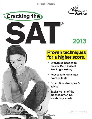 Download Cracking the SAT, 2013 Edition (College Test Preparation) 0307944786