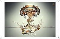 食品および飲料の金属看板 ティンサイン ポスター / Tin Sign Metal Poster (J-FNB00237) Bacardi O Energy Drink: Bomb