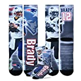 Tom Brady New England Patriots For Bare Feet NFLドライブPlayerプロファイルソックス Medium / 5-10