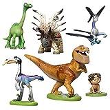 Disney Pixar The Good Dinosaur  6 Piece PVC Figure ディズニーピクサー 『アーロと少年』ミニフィギュア セット【平行輸入品】