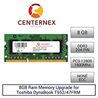 8GB RAMメモリfor Toshiba Dynabook t552/ 47frm ( ddr312800)ノートPCメモリアップグレードby US Seller