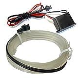 アテンザ GJ ELワイヤー ホワイト 1M ネオンワイヤー 隙間に挟める テープライト