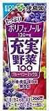 [旧品番] 伊藤園 充実野菜 ブルーベリーミックス (紙パック) 200ml×24本
