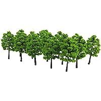 【ノーブランド品】樹木  モデルツリー 20本 鉄道模型 ジオラマ