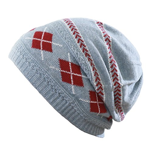 Anti-cancer agent / medical hat Organic argyle pattern cap [for Fall]