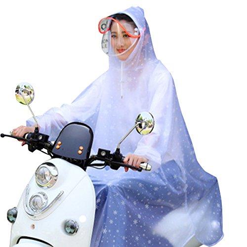[해외]persi wood 비옷 신소재 얼굴이 젖지 더블 후드 자전거 자전거 통근 통학 스포츠 관전 애완 동물 산책 프리 사이즈 남녀 겸용/persi wood raincoat new type material double face hooded bike bike commuter school sports watches pet walk free s...