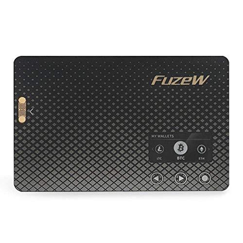 FuzeW(フューズダブリュー)仮想通貨ハードウェアウォレット ビットコイン イーサリアム リップル ライトコイン