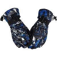 yqxccメンズスキー雪手袋冬暖かいサイクリング防風防水手袋