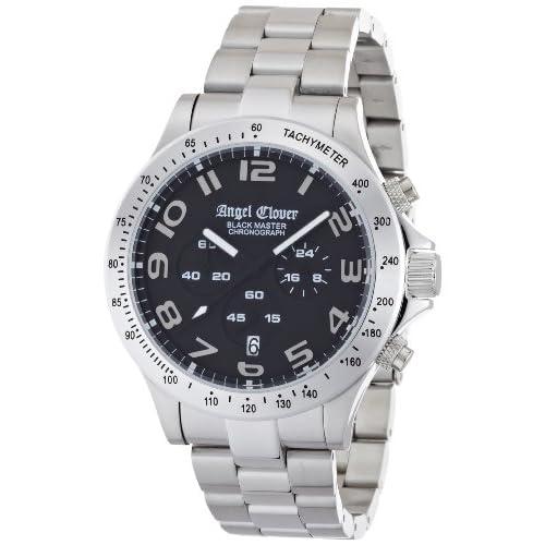 [エンジェルクローバー]ANGEL CLOVER 腕時計 Black Master XL ブラックマスター・エクストララージ BM46SBK メンズ
