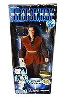 """Star Trek 9"""" Zefram Cochrane First Contact  Playmates 96"""