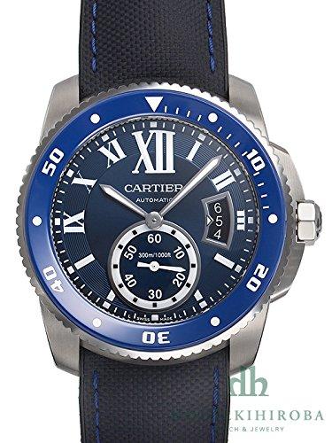 Cartier カルティエ カリブル ドゥ カルティエダイバー WSCA0010 [新品] [CA1150][メンズ][ブルー] [並行輸入品]