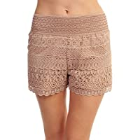 ToBeInStyle Women's Lace Shorts