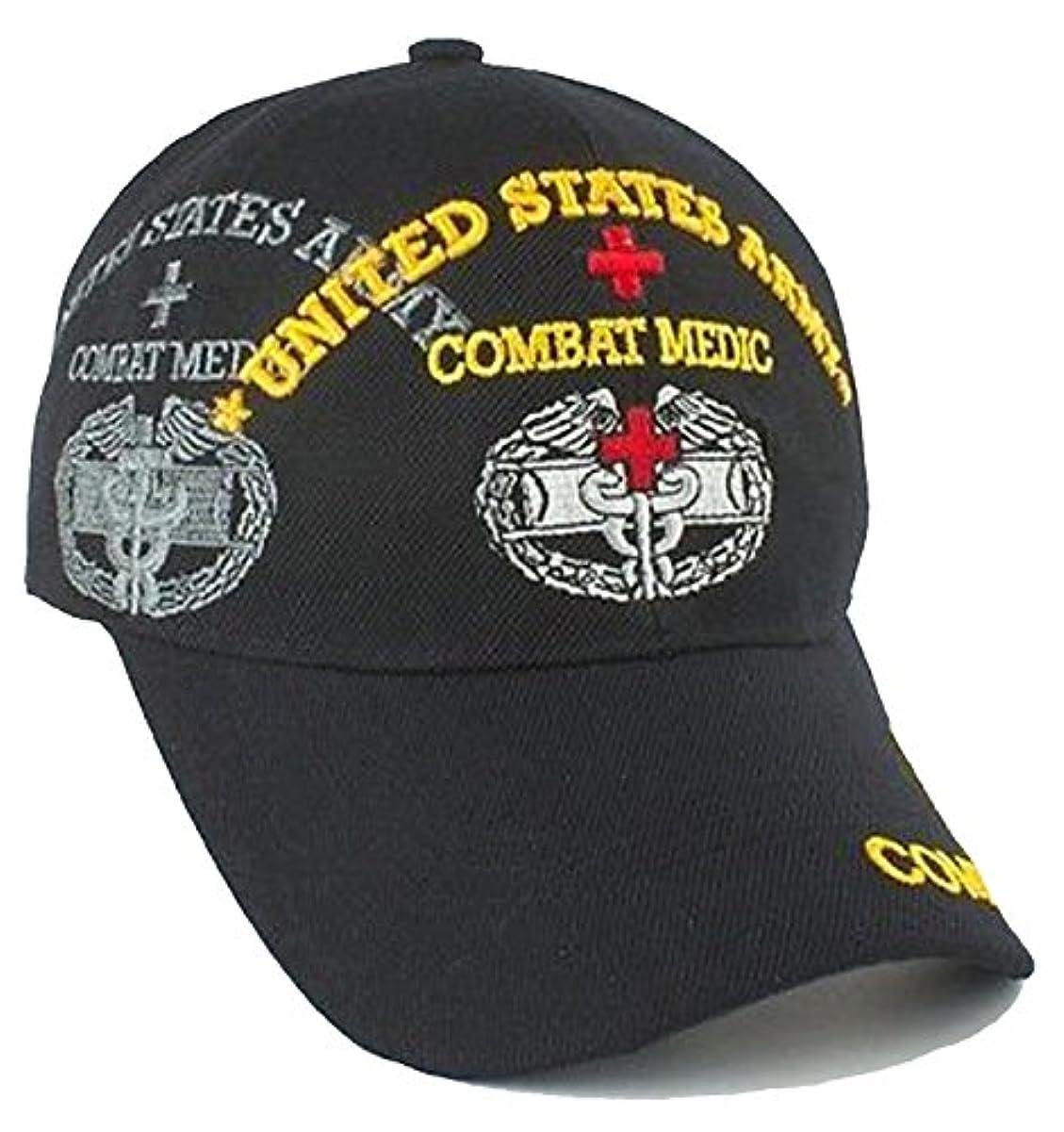 コメンテーターフィラデルフィア失敗Combat Medic野球キャップブラックArmy Hat andバンパーステッカー
