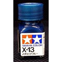 タミヤカラー X-13 メタリックブルー エナメル塗料