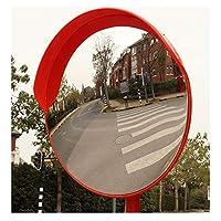 私道ブラインドスポット・ロード60センチメートルOrangeの幅60cm角トラフィックミラー道路ミラー安全ミラー凹面ミラー駐車場のセキュリティ凸曲面ロードミラー付きブラケットネジ (Color : Outdoor, Size : 60cm)