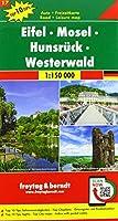 Eifel - Mosel - Hunsrueck - Westerwald, Autokarte 1:150.000, Top 10 Tips, Blatt 17