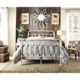 Istyle Monaco Double Bed Frame Metal White