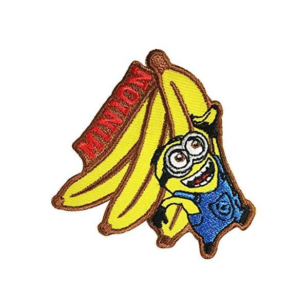 ミニオンズ ワッペン バナナ MNAP28の商品画像