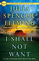 I Shall Not Want (Clare Fergusson / Russ Van Alstyne)