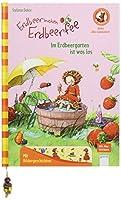 Erdbeerinchen Erdbeerfee. Im Erdbeergarten ist was los: Mit Buchstaben- und Leseraetseln