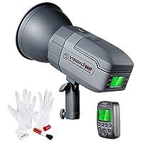 (ニーワー) Neewerバージョン5 400WTTL Nikon HSS Outdoor Studio Flash Strobe用 500のフルパワーフラッシュ ドイツ製の設計 重さ3.96ポンド バウエンマウント付き クリーニングキット付き