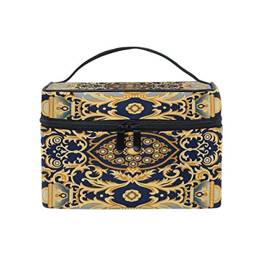 ヨーロピアンスタイルメイクボックス コスメ収納 トラベルバッグ 化粧 バッグ 高品質