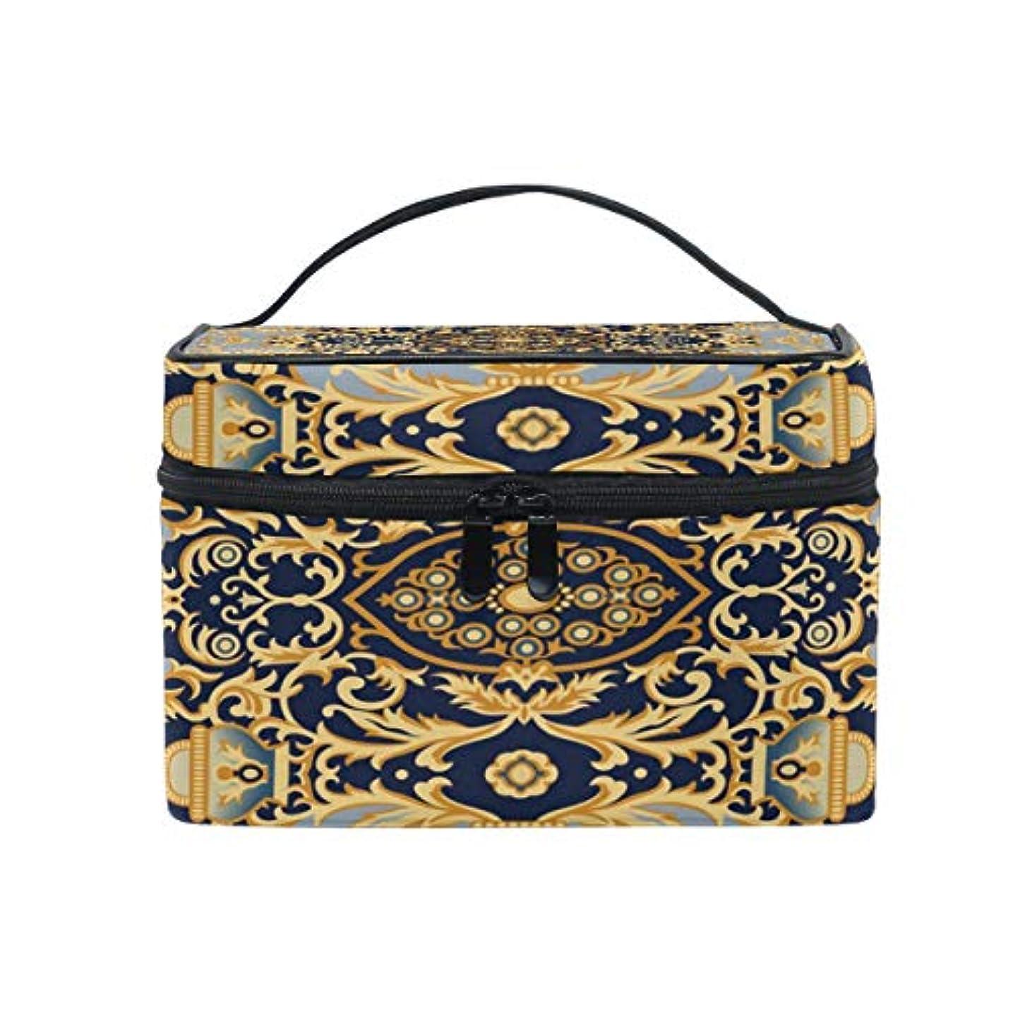 硬化する被害者なめるヨーロピアンスタイルメイクボックス コスメ収納 トラベルバッグ 化粧 バッグ 高品質