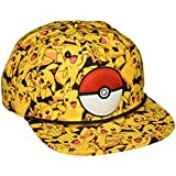 Baseball Cap - Pokemon - Pikachu All Over Print Snapback Hat sb273npok
