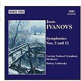 イワノフス 交響曲第5番&第12番