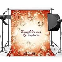 5x 7ft / 150x 210cmビニール写真バックドロップファンシーBokeh Halos Glitter and Twinkle雪片クリスマスBackdropシームレスな子供大人Merry Christmas肖像画背景フォトスタジオProp mp368