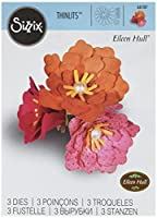 Sizzix 661107 Thinlits Die Set, Flower, Rolled by Eileen Hull, by Sizzix
