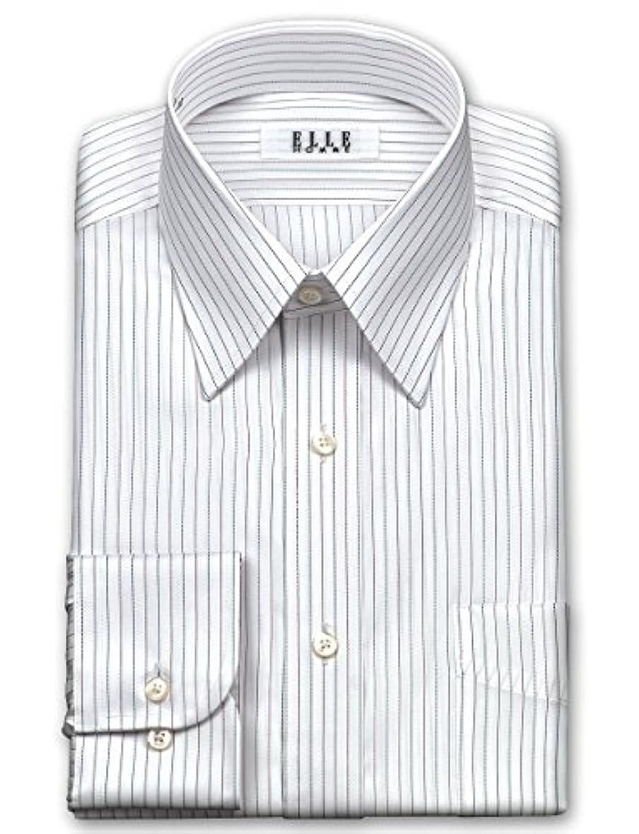 モッキンバード請負業者下手(エル?オム)ELLE HOMME メンズワイシャツ レギュラーカラー   形態安定加工