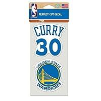 Wincraft ステッカー NBA ステフィン・カリー ゴールデンステイト・ウォリアーズ #30 背番号とチームロゴ [並行輸入品]