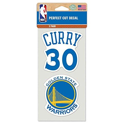 ステッカー NBA ステフィン・カリー ゴールデンステイト・ウォリアーズ #30