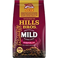 【Amazon.co.jp限定】 ヒルス コーヒー豆 (粉) マイルドブレンド 750g+50g増量