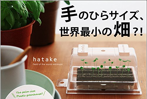 机の上で家庭菜園!世界最小の畑