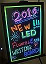 Yihiro LEDボード 電光掲示板 店頭看板 メニュー ブラックボード 販促 PRボード【サイズ:30×40cm】