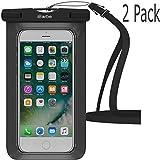 Best 3M iPhone 6ケース - iBarbe 防水ケース ユニバーサル 携帯電話用 ドライバッグ ポーチ 水中カバー ブラック Review