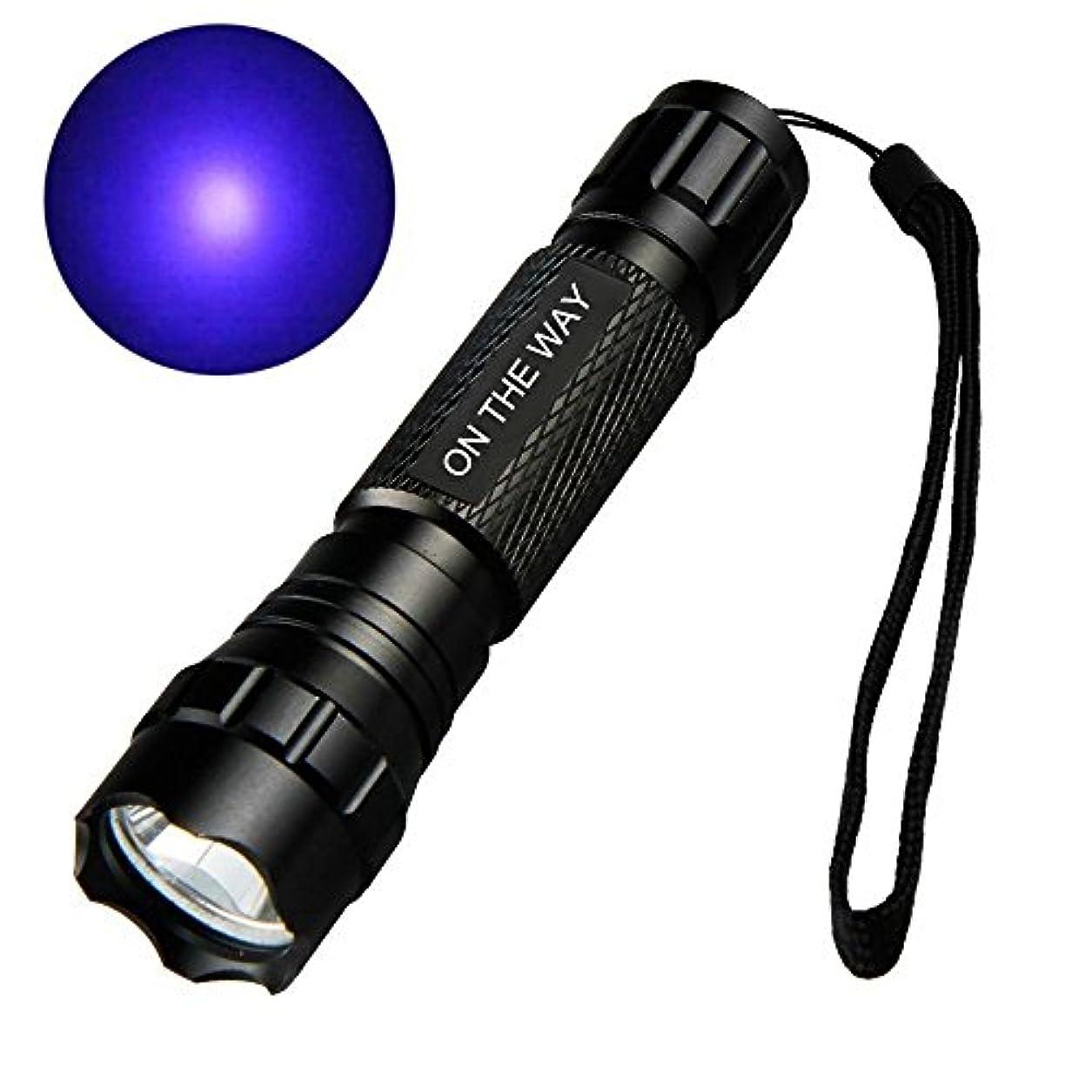 かろうじて準備ができてエンターテインメントON THE WAY T6 1000 Lumen WF-501B G60 3W UV Ultraviolet LED Flashlight Torch by ON THEWAY